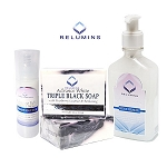 Authentic Relumins Advance White Acne Scar, Dark Spot & Melasma Treatment Set