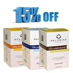 GET 15% OFF on Relumins Premium Collagen Blend - With Glutathione, Green Tea Extract and CoQ10 - Pineapple or Blueberry or Vanilla