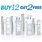 Buy 12 and Get 2 Free ! NEW LUMINOUS ULTRAGLOW SET - Cream, Lotion, Serum and Toner!!  Bright and Glowing Skin Set  from RELUMINS