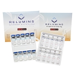 Authentic Relumins Advanced Glutathione 1100mg 10vials - Glutathione & Vitamin C - Whitens, repairs & rejuvenates skin - Sublingual