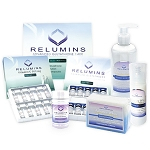Authentic Relumins Advanced White Set - 1400mg Glutathione PLUS Boosters, Repair Lotion, TA Stem Cell Serum & TA Stem Cell Soap