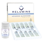 New Relumins Advance White Gluta 15000mg - Professional Grade Skin Whitening Plus Gluta Booster - USA and Philippines FDA Compliant