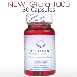 New Relumins Advance Nutrition Gluta 1000 - Reduced L-Glutathione Complex - 30 CAPSULES (15 DAY SUPPLY)