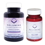 Relumins Advance Nutrition Gluta 1000 And Advance Vitamin C - Max Skin Whitening Complex Set