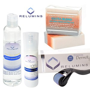 Professional Acne Scar Treatment Set - Safe & Effective Treatment For Indented and Dark Acne Scars
