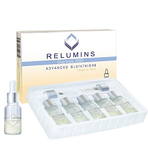 New Relumins Advance White Gluta 7500mg - Professional Grade Skin Whitening - Usa and Philippines Fda Compliant