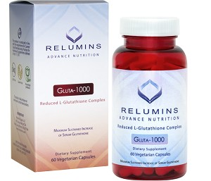 New Relumins Advance Nutrition Gluta 1000 - Reduced L-Glutathione Complex