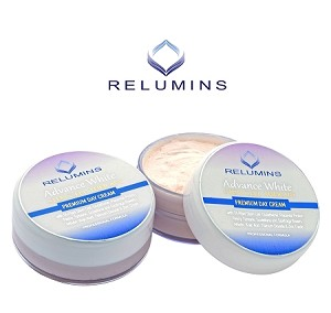 Authentic Relumins Advance Whitening Facial Cream With TA Stem Cell & Placenta - Intensive Repair & Sun Protection