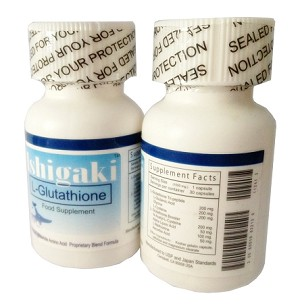 Authentic Ishigaki L-Glutathione 600mg � 30 capsules Ultra-Whitening Formula with L-glutathione booster - FREE SHIPPING