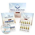 Relumins Advanced Glutathione 1100mg 10 vials - Glutathione & Vitamin C - Whitens, repairs & rejuvenates skin