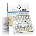 Relumins Advance White Gluta 15000mg - Professional Grade Skin Whitening Plus Gluta Booster - USA and Philippines FDA Compliant