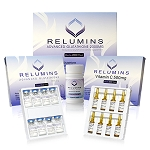 Relumins Advance White Gluta 2000mg 8vials - Glutathione & Vitamin C PLUS Gluta Boosters- Whitens, repairs & rejuvenates skin (Sublingual)