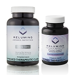 NEW BUNDLE! Relumins Advance Gluta Slim and Relumins Advance Vitamin C - 60 Capsules (30 day supply)