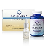 Relumins Oral Vial 7500mg and  Relumins Resveratrol R3 Set