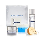 Relumins Advance White Facial Set With Wooden Brush