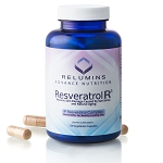 Relumins Resveratrol R3, Reverse Skin Damage Caused by Sun, Stress, and Natural Aging 120 capsules