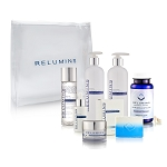 Relumins Advance Total Whitening Set – Oral Capsule, All Day Lotion, Repair Solution Toner, Brightening Cream, Brightening Serum, Intensive Repair Lotion & Soap