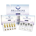 Relumins Advance White Gluta 3500mg Reduced L-Glutathione Set MAX - Glutathione & Vitamin C PLUS BOOSTERS