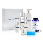 Authentic Relumins Advanced Whitening Intensive Repair Night Set - Repairs skin damage while you're asleep