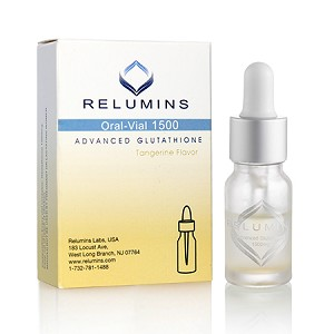 Relumins Advanced Glutathione 1500mg - Professional Grade Skin Whitening Single Vial - Usa Fda Compliant