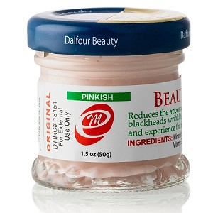 Authentic Dalfour Beauty Gold Seal Whitening Pinkish Cream - For Skin That Needs Extra Moisture