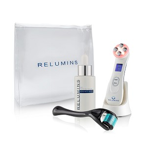 Acne scar Resurfacing Set - Authentic Relumins Advance White Intensive Repair Mesotherapy Skin Perfecting Treatment Set