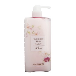 The SAEM Touch On Body Plum Body Lotion 300ml